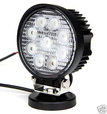 27w LED Work Round Light Spot Beam - STL LED ONLINE