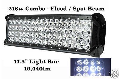 216w 4 ROW COMBO BEAM JEEP SUV LED LIGHT BAR - STL LED ONLINE