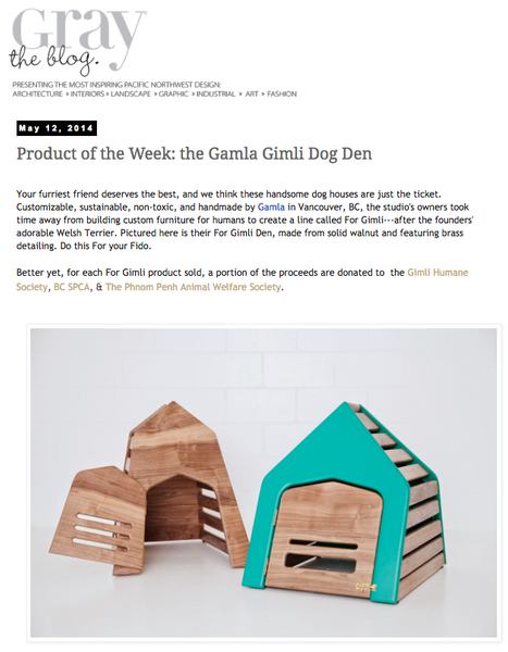 Product of the Week: Feature in Gray Magazine
