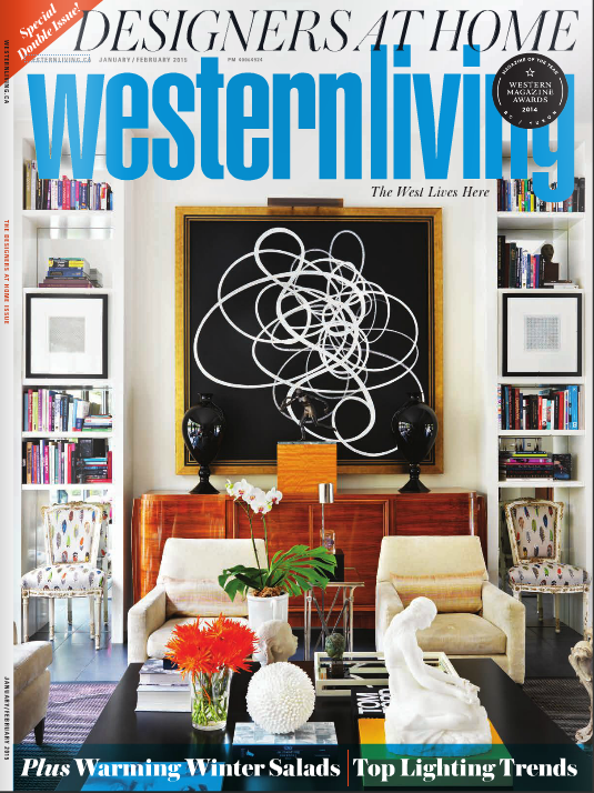 Quintessential West Coast Chair: Feature in Western Living Magazine