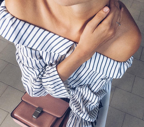 SALLY STRIPE BLOUSE