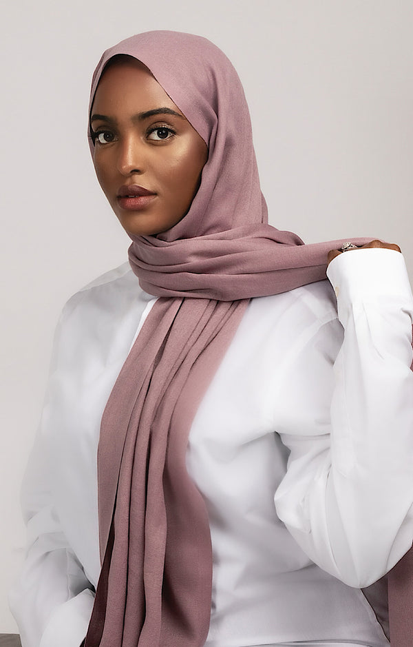 LUXURY TURKISH COTTON DEEP MAUVE
