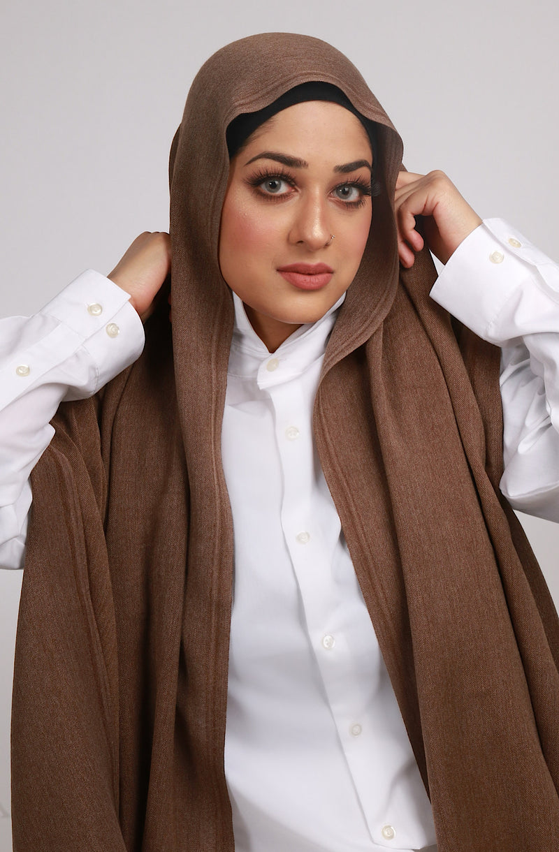 LUXURY TURKISH COTTON TAUPE BROWN