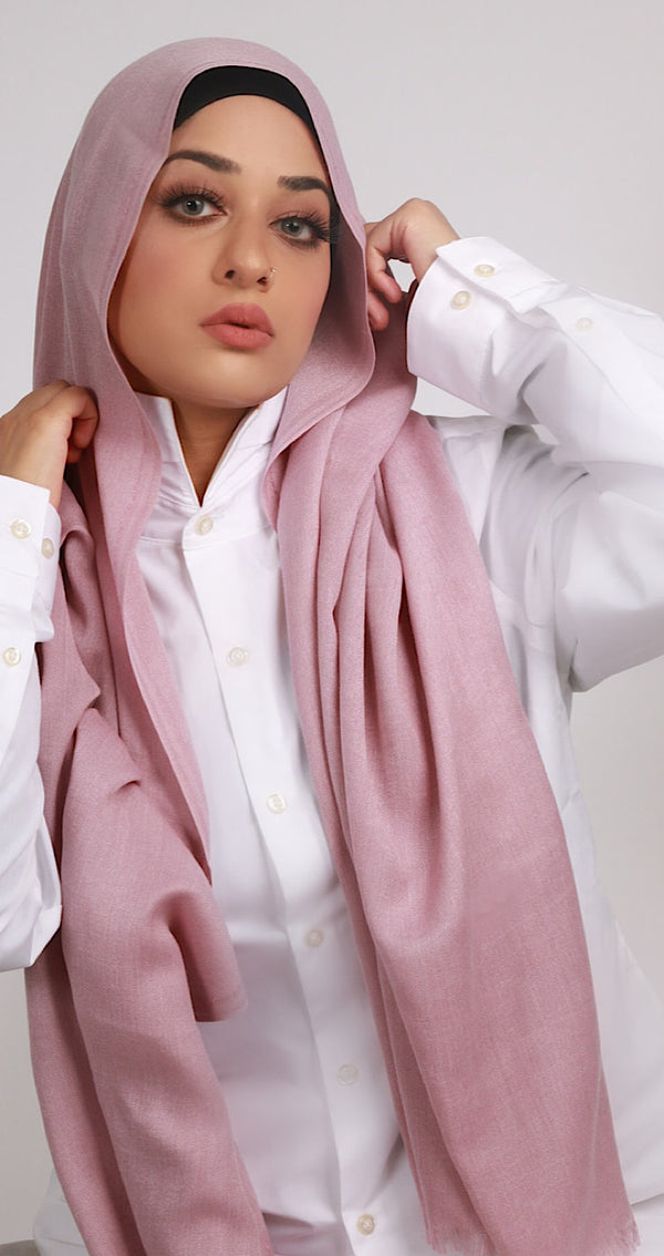 LUXURY TURKISH COTTON DUSTY MAUVE
