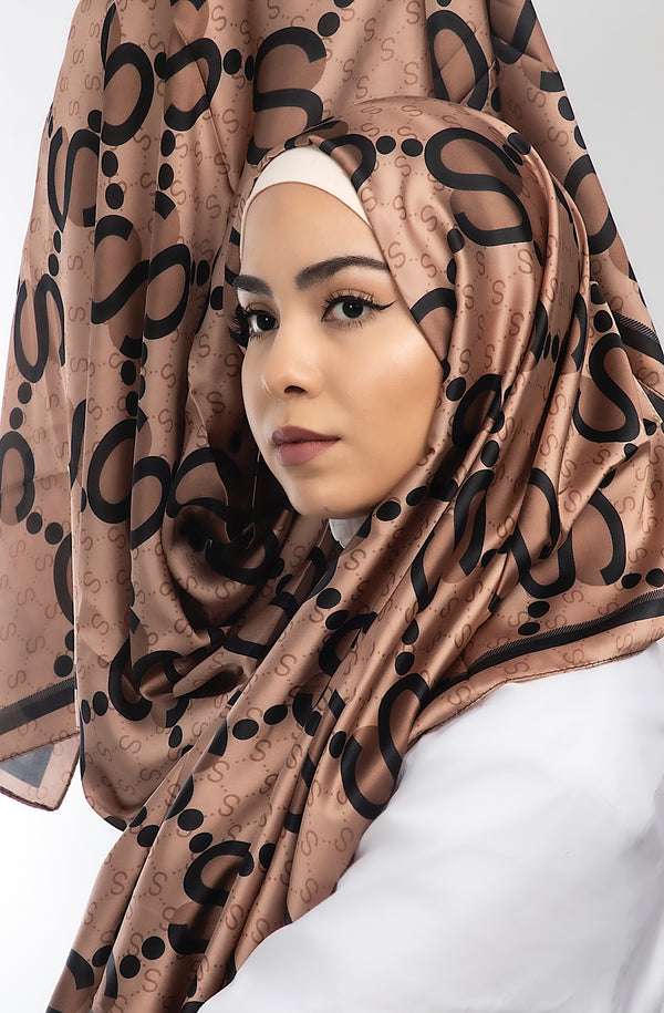 SOHAYLA SATIN BROWN