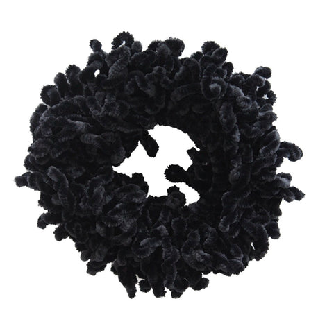 VOLUMIZING SCRUNCHIE BLACK - GESSO