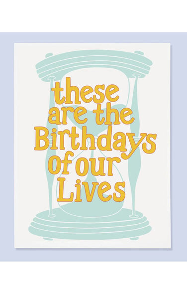 Bdays Of Our Lives Card