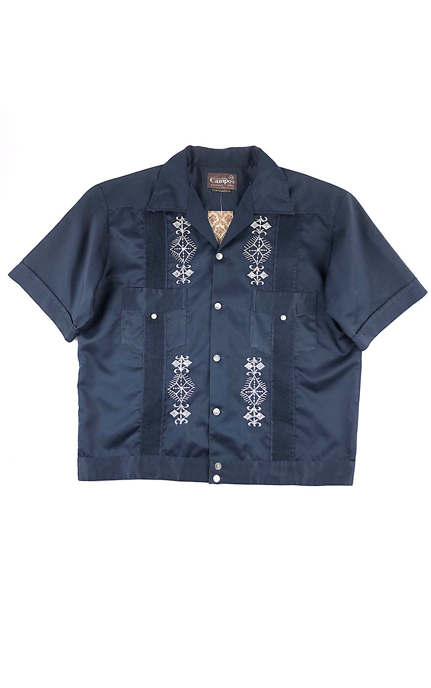 Dressy Casual Short Sleeve Button Up Shirt