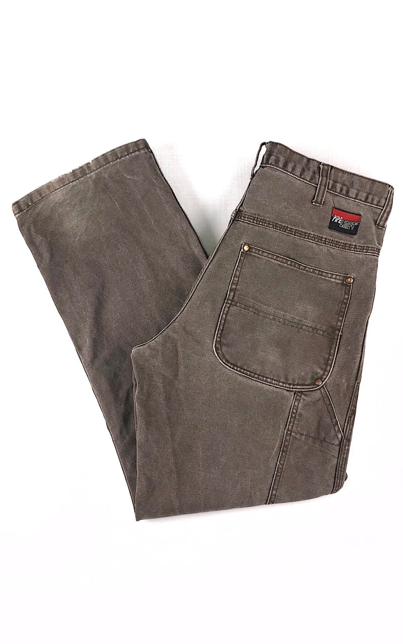 Brown Carpenter Pants