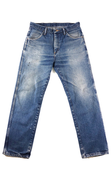 Beautifully Worn In Blue Jeans