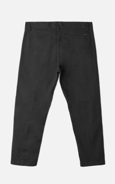 Straggler Flood Pant Black