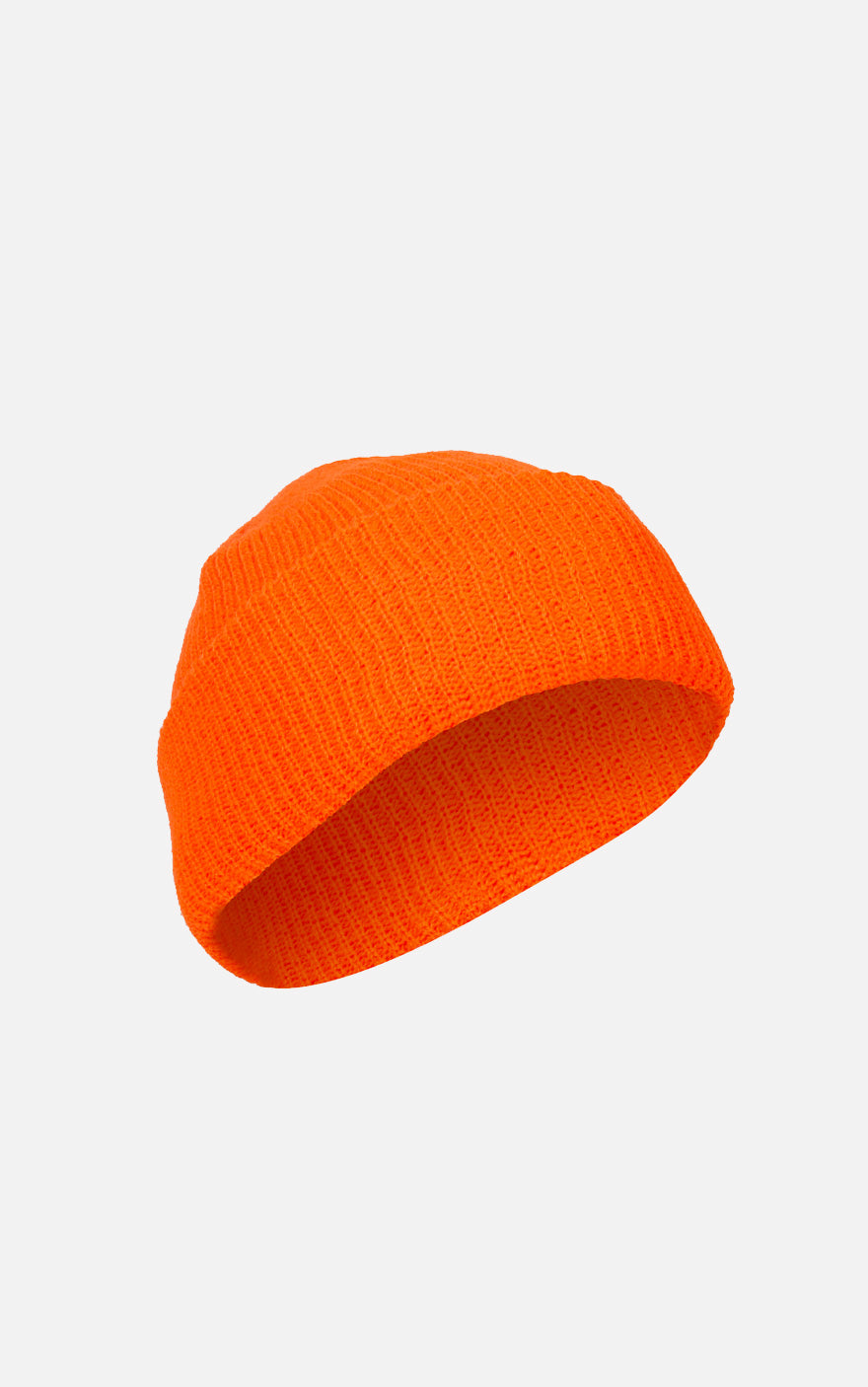 Acrylic Watch Cap Orange