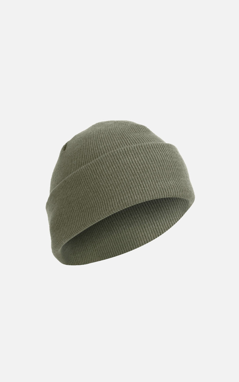 Fine Knit Watch Cap Foliage Green