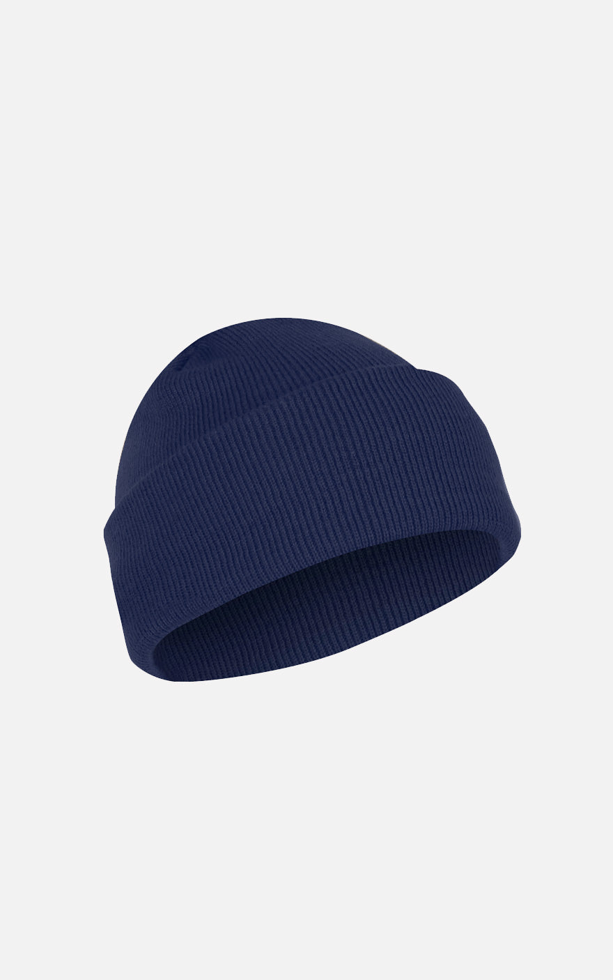 Fine Knit Watch Cap Navy
