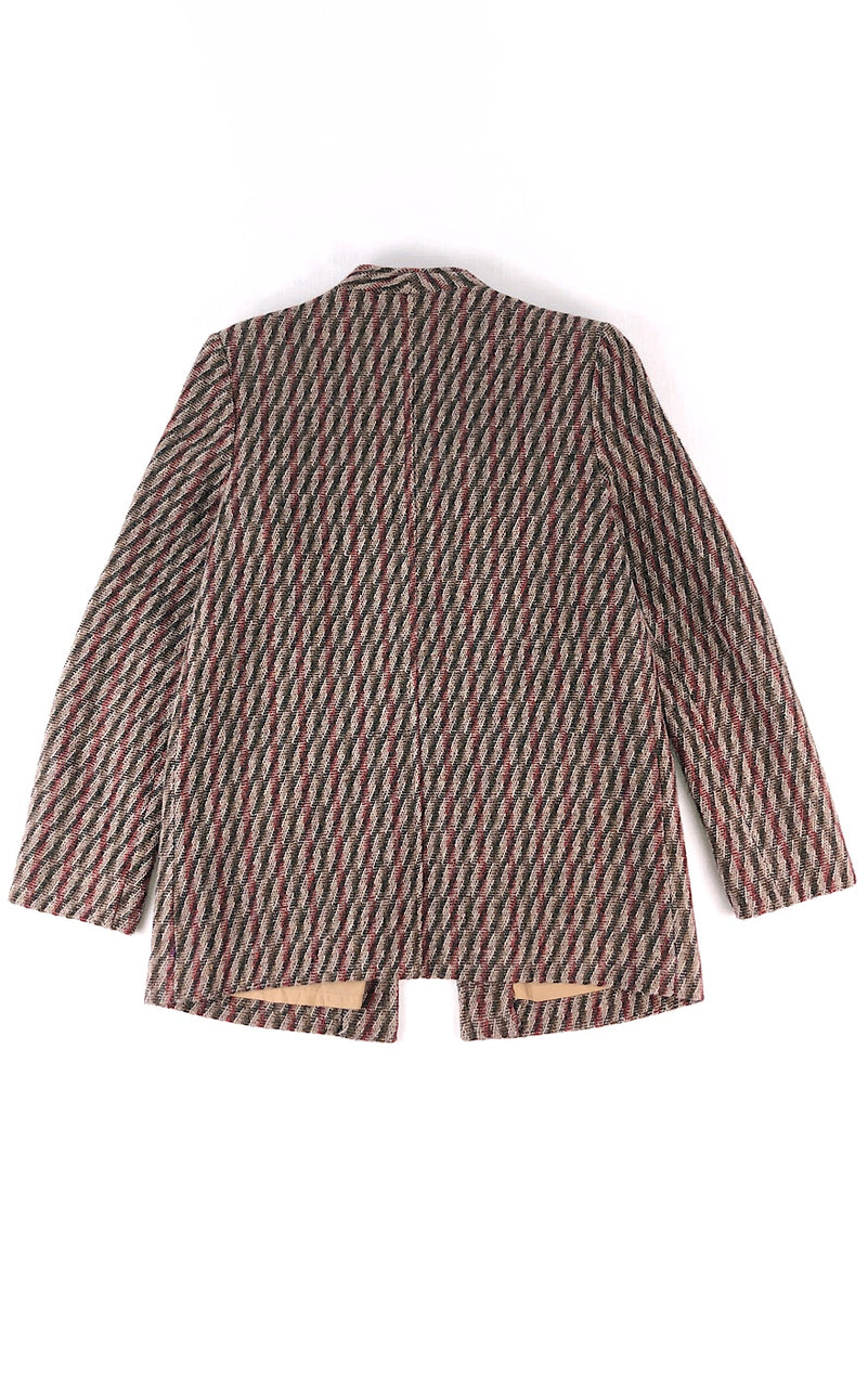 Woven Right In Jacket