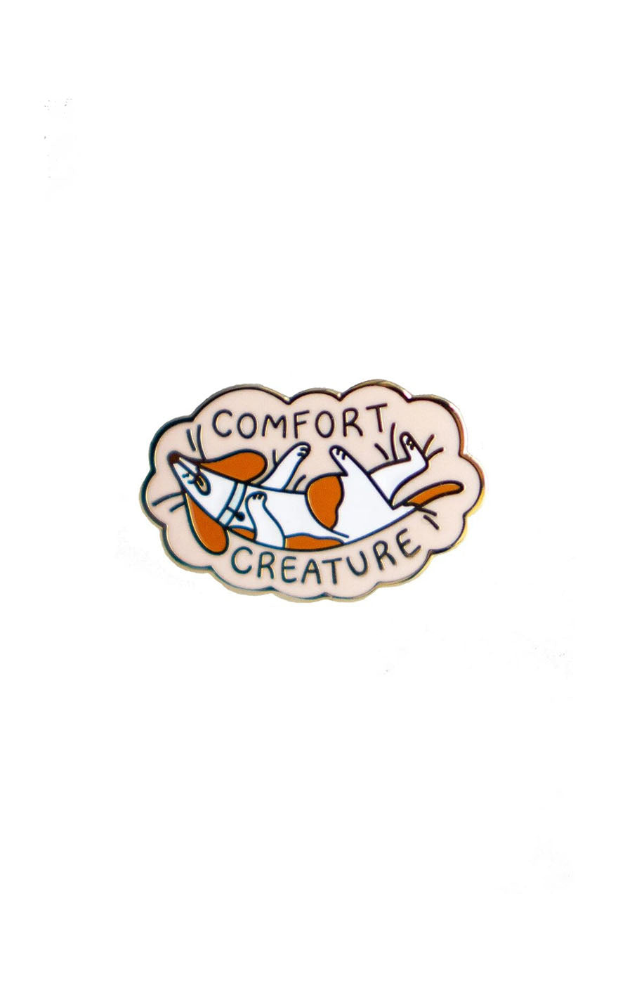 Comfort Creature (Dog) Pin