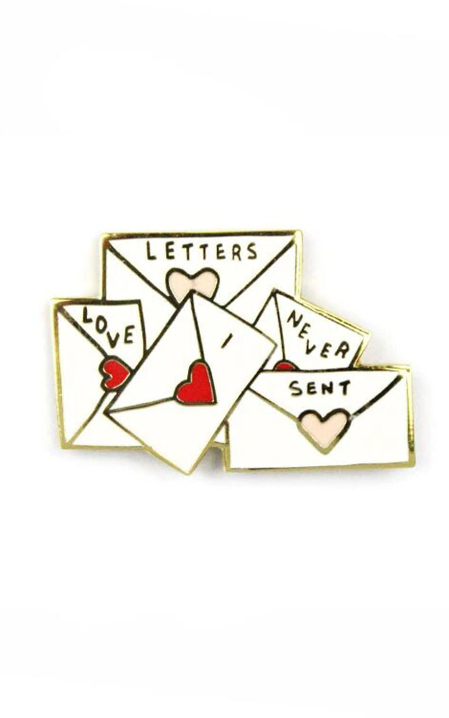 Love Letters I Never Sent Pin
