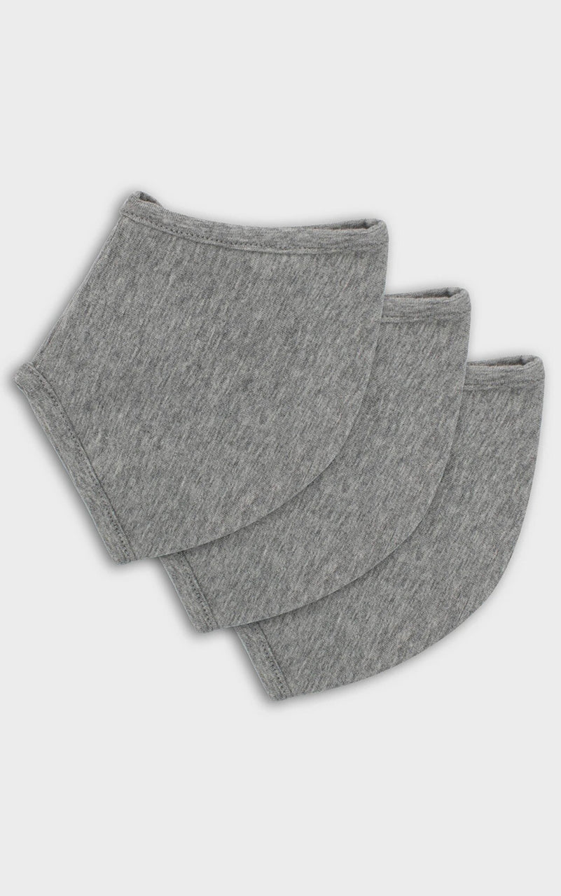 3-Pack Masks Heather Grey