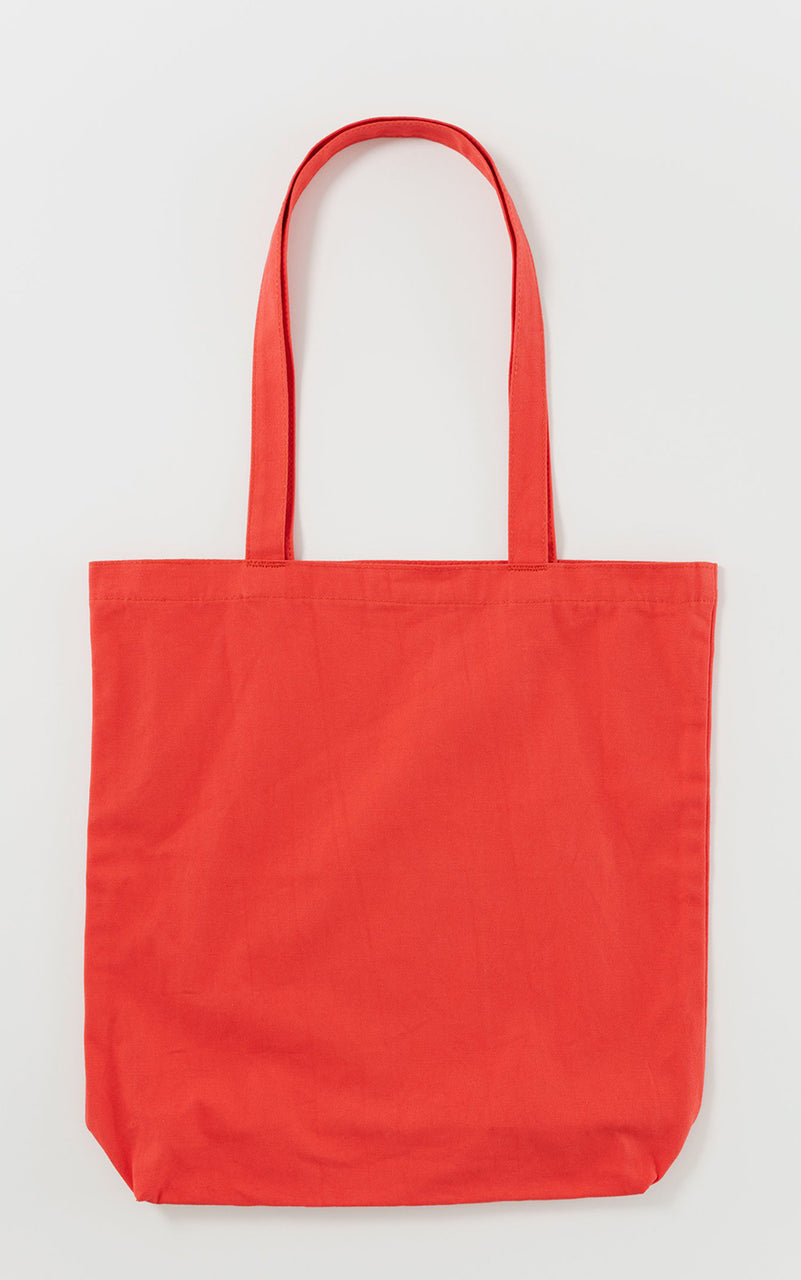 Merch Tote Warm Red