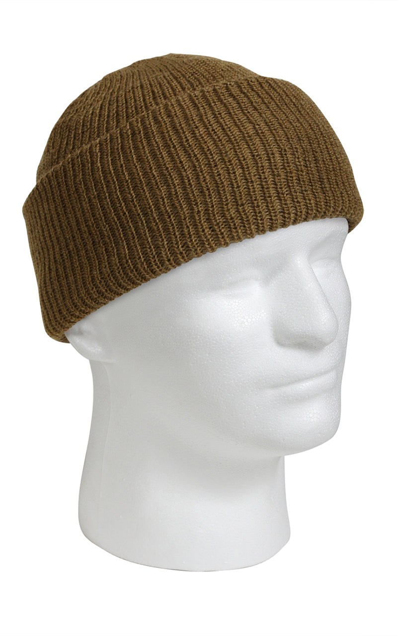 Wool Watch Cap Coyote Brown