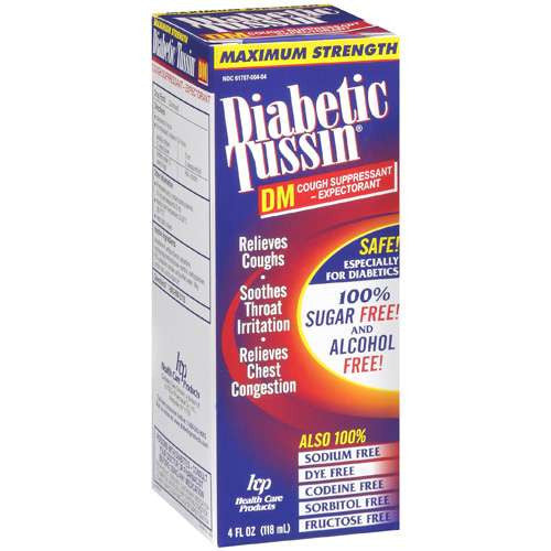 Diabetic Tussin DM 4oz