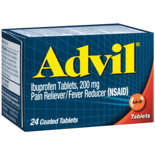 Advil Ibuprofen Tablets, 200 mg