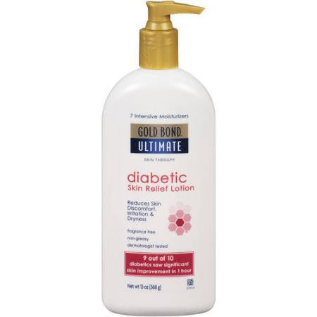 Gold Bond Ultimate Diabetic Dry Skin Relief Lotion 13 oz.