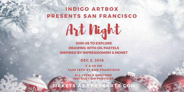 Indigo Artbox Art Night