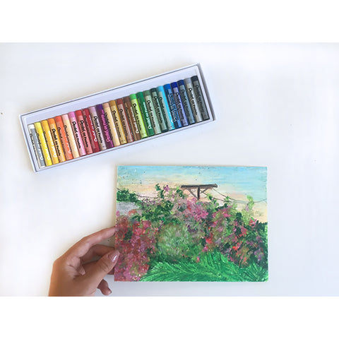 Oil Pastel Art Box