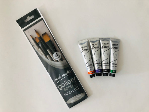 Art Kit: Painting with Acrylics