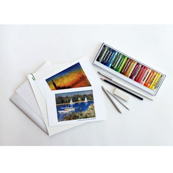 Monthly Art Box Subscription | Oil Pastel Art Box