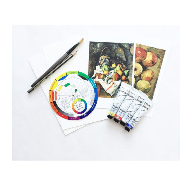 Art Kit: Painting with Acrylics, Inspired by Paul Cezanne