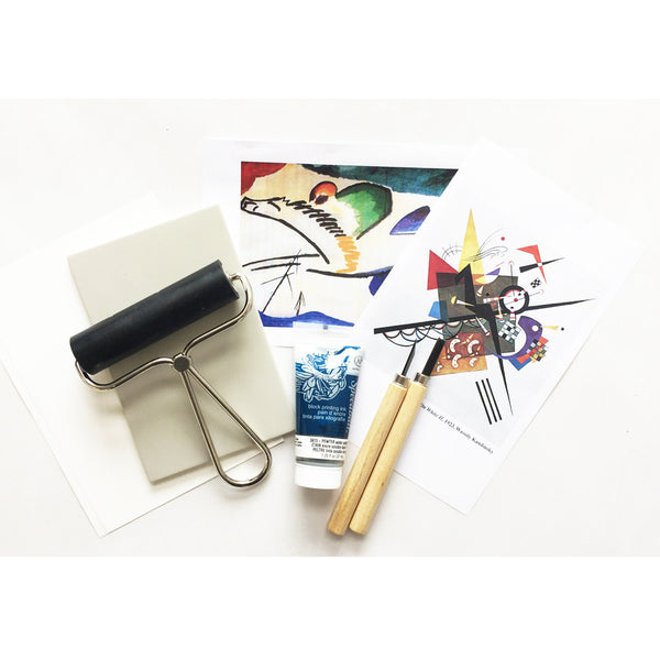 Art Kit: Printmaking, Inspired by Wassily Kandinsky