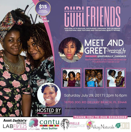 Our First Hair Event: PBC Curlfriends