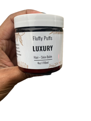 luxury balm for hair and skin acne my fluffy puffs