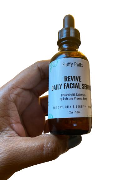 revive daily facial serum fluffy fluffs way puffs