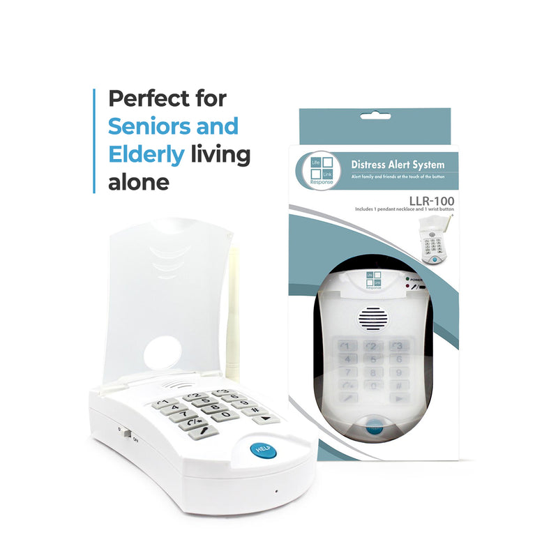 Medical Alert Systems For Seniors No Monthly Fee - LLR 100