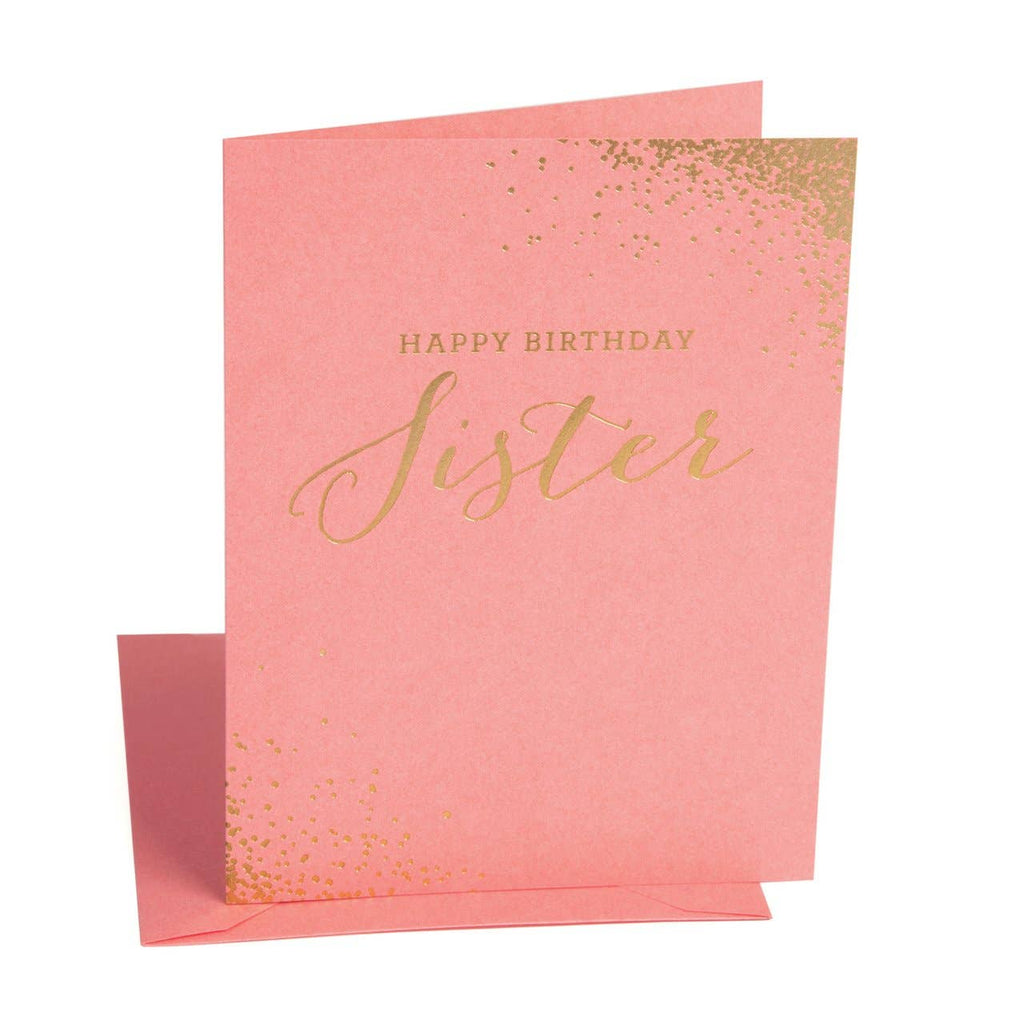 The Social Type - Happy Birthday Sister Card