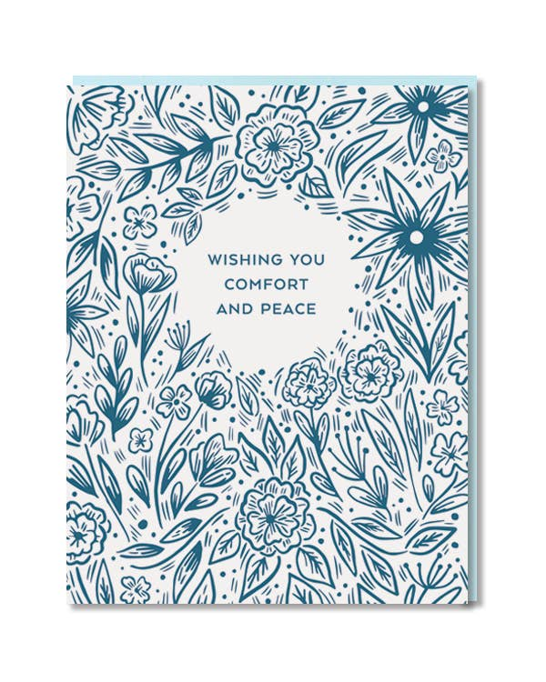Paper Parasol Press - Comfort and Peace Blooms -  - Stomping Grounds