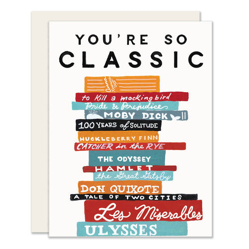 So Classic Card - Notecard - Stomping Grounds
