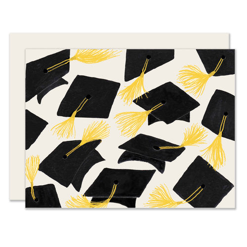 Grad Caps Card - Notecard - Stomping Grounds