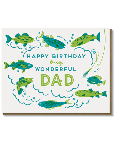 Paper Parasol Press - Wonderful Dad Birthday Card