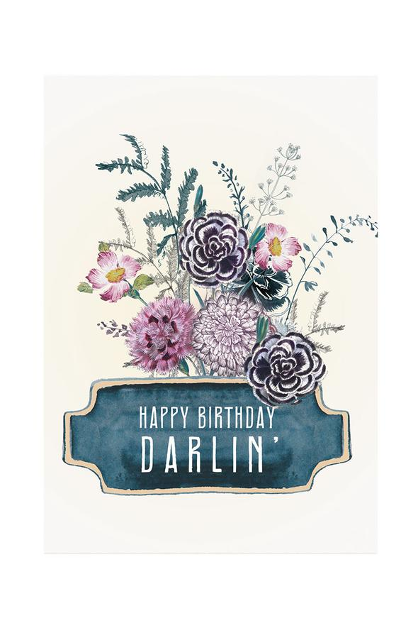 Happy Birthday Darlin' - Notecard - Stomping Grounds