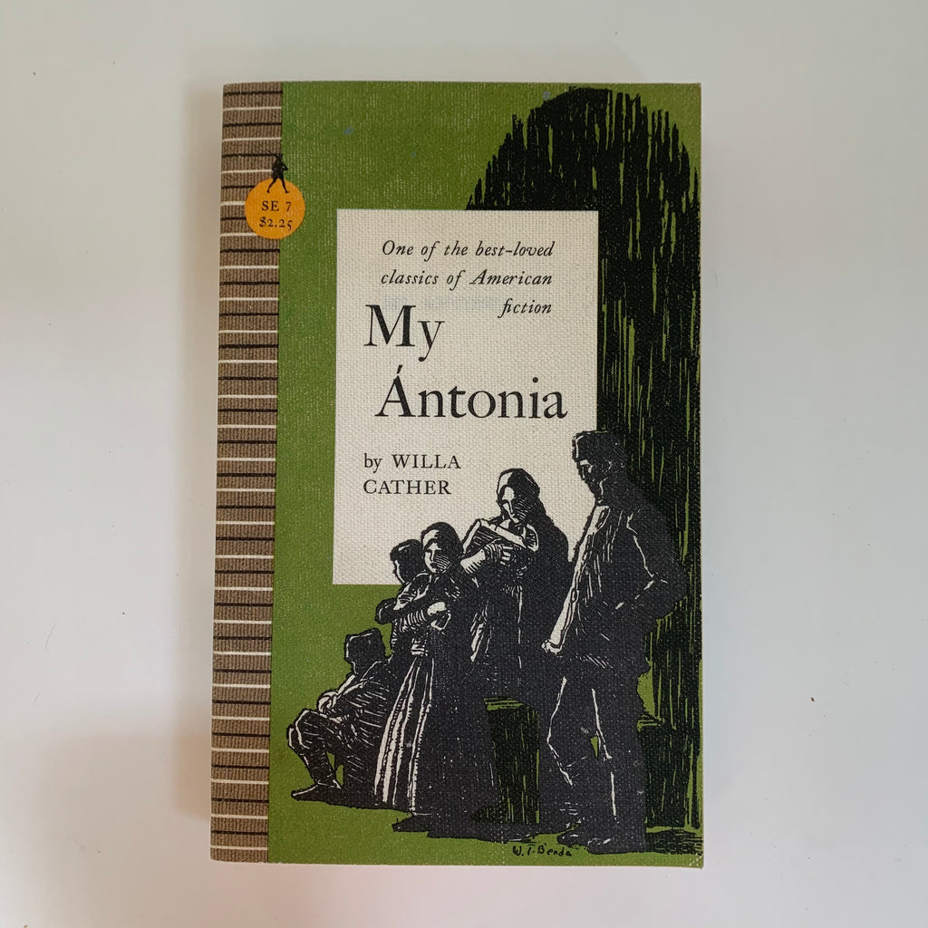 Vintage Book- My Ántonia by Willa Cather