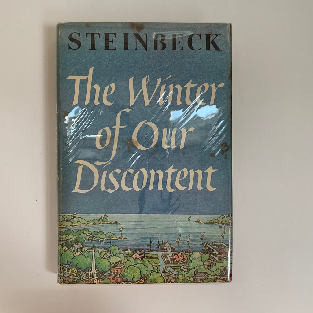 Vintage Book- The Winter of Our Discontent by John Steinbeck
