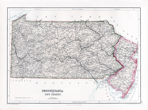 Pennsylvania and New Jersey (1867)