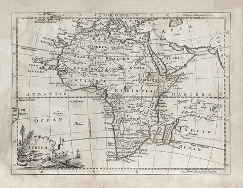 1764 Africa Map