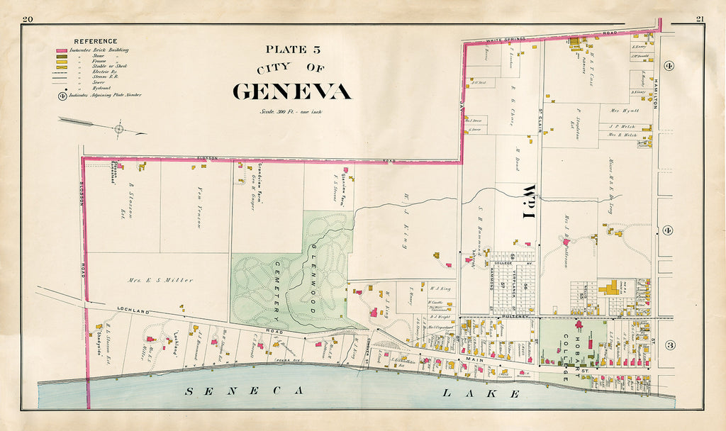 City of Geneva - Plate 5 - Print - Stomping Grounds