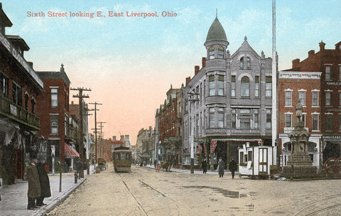 Sixth Street Looking East – East Liverpool, Ohio
