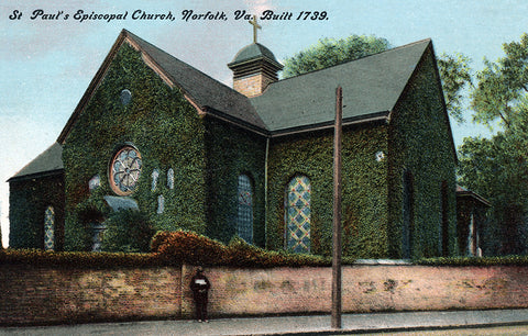 Saint Paul's Episcopal Church, Norfolk, Virginia, Built 1739